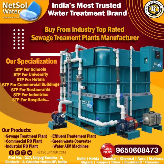 Sewage Treatment Plant Manufacturer - 9650608473
